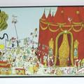 """""""Les caravanes du cirque"""" - Illustration tirée de l'album """"Poupoupidours"""" écrit et illustré par Benjamin Chaud, publié aux Éditions Hélium."""
