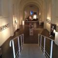 Mise en place de l'exposition dans le cadre du salon du livre jeunesse de Beaugency (45)