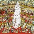 """""""Dans le grand magasin"""" - Illustration tirée de l'album """"Coquillages et Petit ours"""" écrit et illustré par Benjamin Chaud, publié aux Éditions Hélium."""