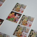 Images du jeu de Memory reprenant des extraits d'illustrations originales de Vanessa Hie.