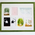 """""""En tout temps"""" - 7 illustrations originales de Benjamin Chaud provenant de différents albums, présentées ensemble sous une même thématique."""