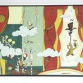 """""""La famille ours voltige"""" - Illustration tirée de l'album """"Poupoupidours"""" écrit et illustré par Benjamin Chaud, publié aux Éditions Hélium."""
