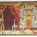 """""""Girafe et vente de barbapapas"""" - Illustration tirée de l'album """"Poupoupidours"""" écrit et illustré par Benjamin Chaud, publié aux Éditions Hélium."""