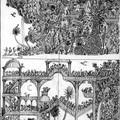 Deux croquis d'illustrations
