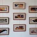 """Suite de la présentation des illustrations originales de l'illustrateur Frédérick Mansot tirées de l'album """"Le petit Chaperon rouge"""" - Magnard Jeunesse - Médiathèque de Meyzieu (69)"""