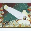 """""""La famille ours sous les feux de la rampe"""" - Illustration tirée de l'album """"Poupoupidours"""" écrit et illustré par Benjamin Chaud, publié aux Éditions Hélium."""