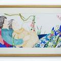 """""""Attendre l'enfant"""" - Illustration originale de Judith Gueyfier."""