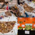 Atelier de réalisation de nids avec l'illustratrice Coralie Saudo - Médiathèque de Carros (06)