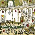 """""""Dans le hall de l'opéra"""" - Illustration tirée de l'album """"Une chanson d'ours"""" écrit et illustré par Benjamin Chaud, publié aux Éditions Hélium."""